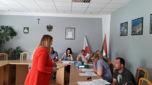 SPOTKANIE INFORMACYJNE I SZKOLENIE DLA POTENCJALNYCH BENEFICJENTÓW - SIEDLISKO 24.04.2018